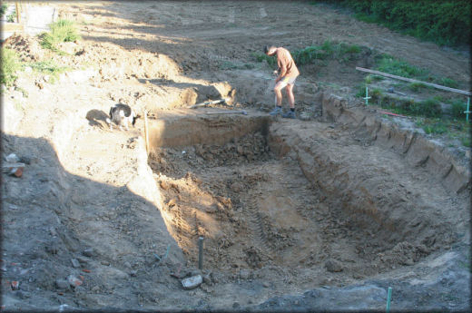 Piscine naturelle r alisation compl te de thierry for Construction de piscine naturelle