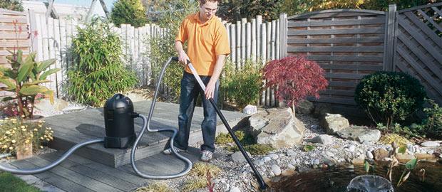 L\'entretien du bassin de jardin