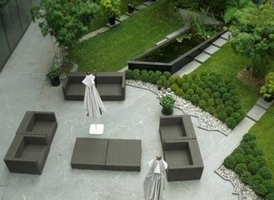 Cr ation d 39 un jardin japonais chez soi for Jardin paysager moderne