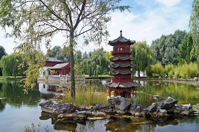 Le jardin chinois for Jardin chinois