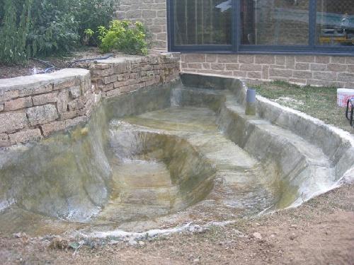 Un bassin de jardin sur mesure