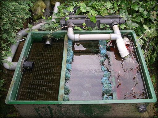 Filtre maison pour bassin pour les poids et tailles des for Filtre bassin exterieur poisson