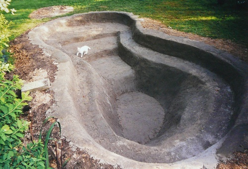 Bassin de jardin sans bache bassin de jardin for Bache etanche bassin