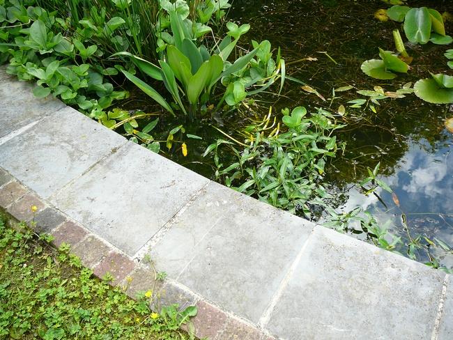 utilisation du carrelage au jardin